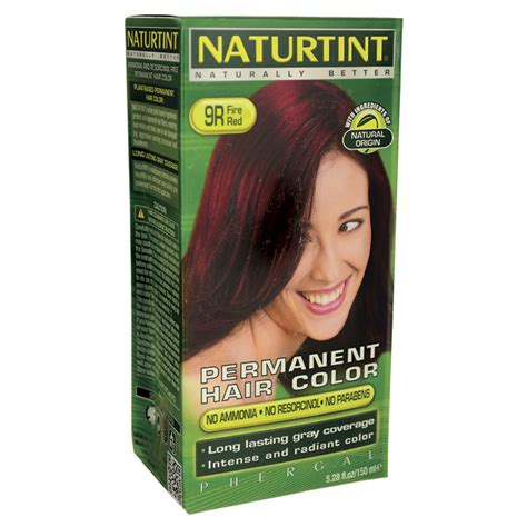 naturtint permanent hair color 9r 1 kit