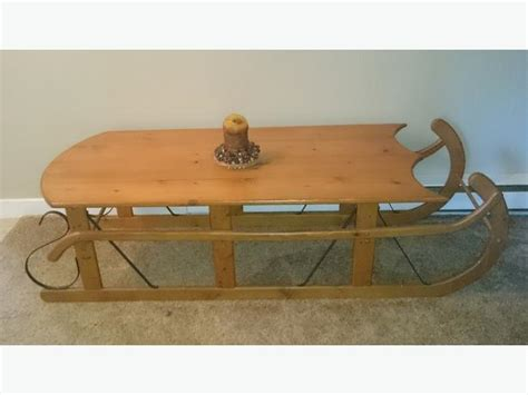 fashioned sleigh coffee table esquimalt view royal