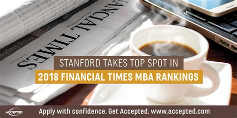 Stanford Mba Invitations 2018 by Stanford Takes Top Spot In 2018 Financial Times Mba
