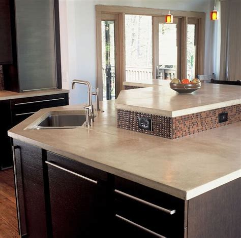 Light Colored Concrete Countertops by Light Color Concrete Counter Like House Things