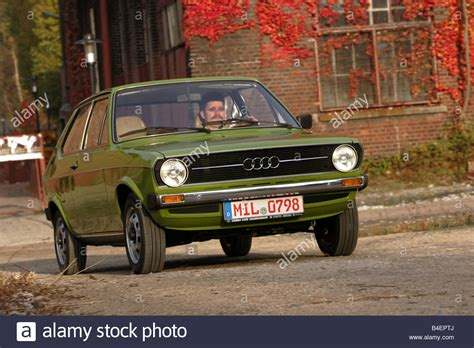 popular car for 50 year old car audi 50 ls model year 1974 1978 green old car