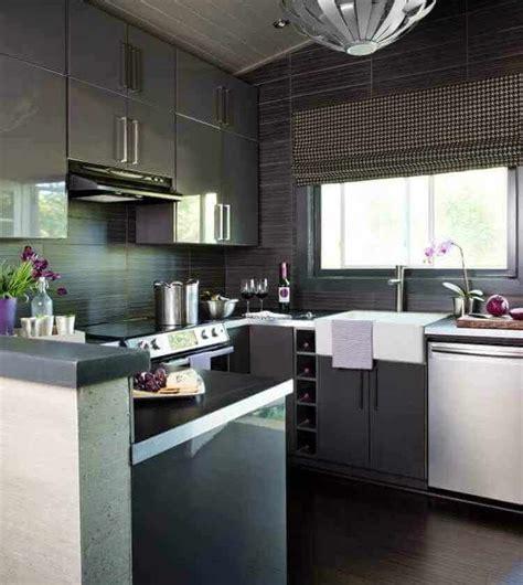 decorar cocinas pequeñas modernas cocinas decoracion moderna