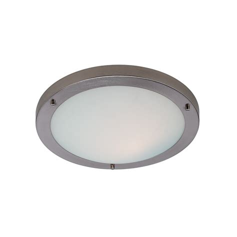 Firstlight 2740bs Ip54 1 Light Bathroom Flush Fitting Light Fittings For Bathroom