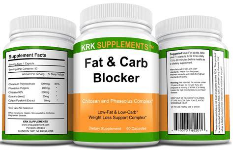 fat  carb blocker  capsules krk supplements