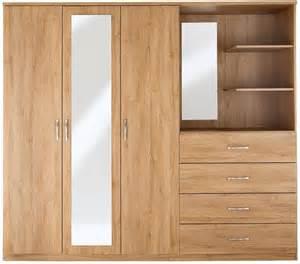 combi peru 3 door 4 drawer mirrored wardrobe shopstyle
