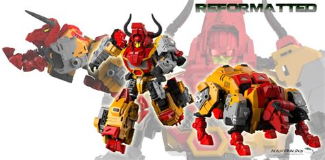 Mmc Feral Rex Aka Predaking Transformers Repainted mastermind creations r 03 bovis colored image revealed transformers news tfw2005