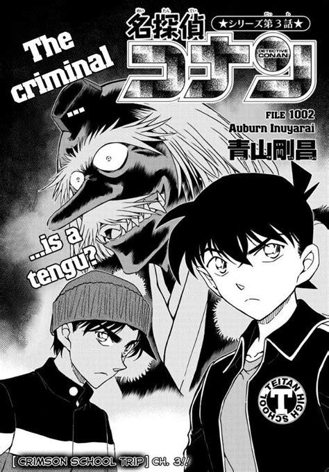 Detective Conan Series detective conan file 1002 quot the auburn inuyarai quot series