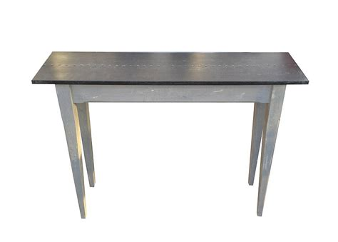 Zinc Console Table with Zinc Topped Console Table By Bryonie Porter Notonthehighstreet