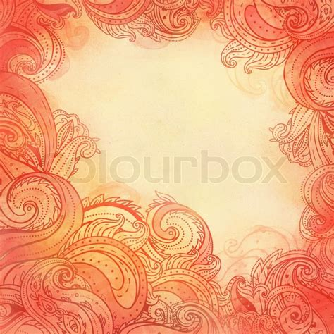 frame patterned wallpaper paisley patterned frame trendy modern wallpaper or