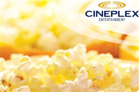 Cineplex Gift Card - win a 50 cineplex gift card los angeles draws daily draws coupons contests and