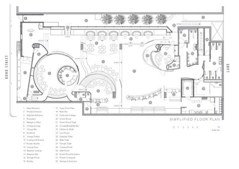 bar floor plan design gallery of bond bar hachem 16 australia nightclub