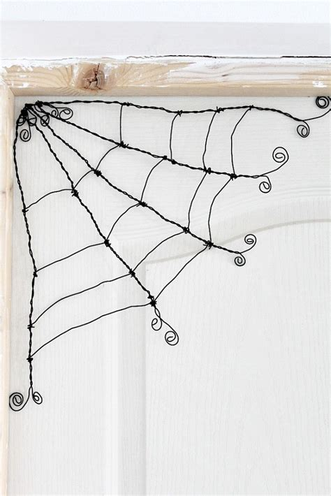 how to make a wire make your own wire spider webs crafts