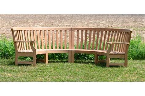 semi circular garden bench wonderful circular garden bench seat large english oak