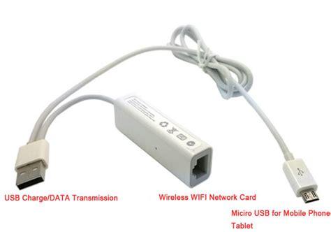 Promo Promo Promo Kabel Telphone Isi 4 Way Tukuiki Abu Abu Per Meter 1 micro usb wired ethernet network card rj45 wirelss wifi ap adapter usb power supply charge