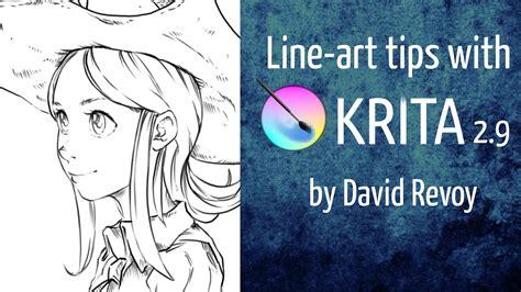 sketchbook pro stabilizer line tips with krita 2 9 painting tutorials tips