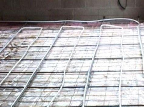 Diy Radiant Floor Heating by Radiant Floor Heating Basics Flooring Ideas