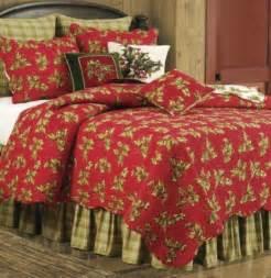 Christmas holiday bedding