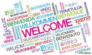 quot welcome bienvenue willkommen bienvenido word tag cloud