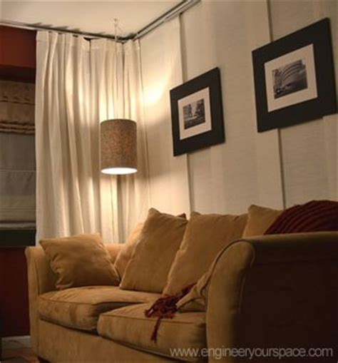 hanging curtains from ceiling as room divider 25 b 228 sta hanging room dividers id 233 erna p 229 pinterest