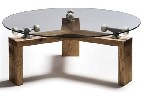 Spinning Table spinning skateboard table