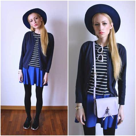 Sweater Pita Salur Navy Pita Zara Daniel Wellington Beige And Black