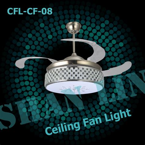 cfl cf 08 cheap ceiling fans with led light in ceiling