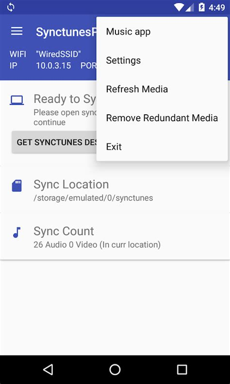 sync to android sync itunes to android free android apps on play
