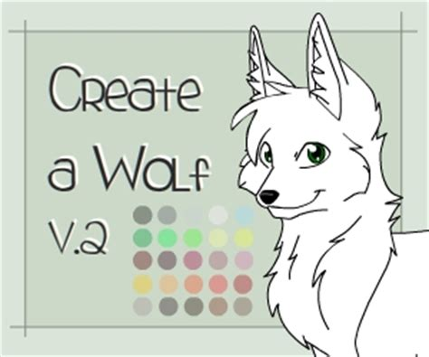 wolf maker design your own wolf create a wolf v2 by khalypso on deviantart
