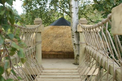 backyard rope bridge rope bridges for treehouses by treehouse life eclectic