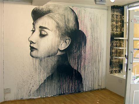 paint for wall murals amazing hepburn beautiful image 307385 on favim