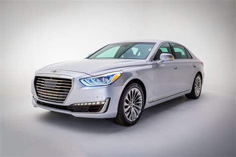 2017 genesis g90 2017 mercedes amg c63 coupe new ford hyundai takes wraps off genesis g90 flagship