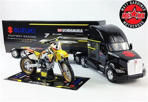 jams trucks stewart yoshimura gift set suzuki rmz450 motocross