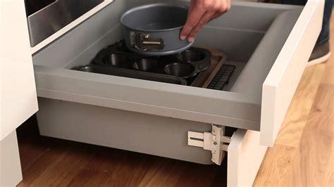 backofen mit schublade built oven housing storage drawer