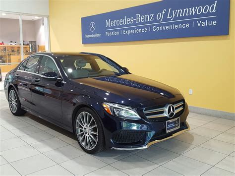 mercedes certified certified pre owned 2015 mercedes c class c 400