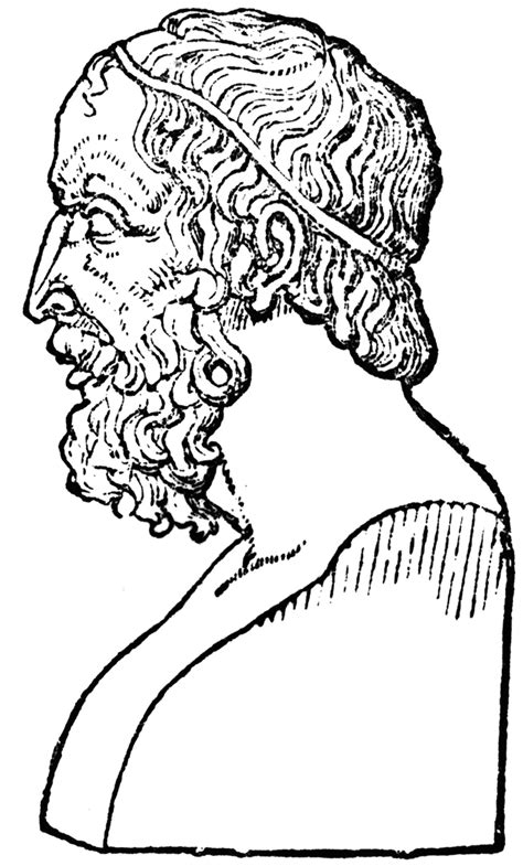 Bust of Homer | ClipArt ETC