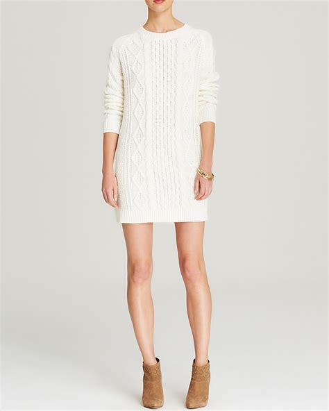 white cable knit sweater dress minkpink sweater dress cable knit where to buy how to wear