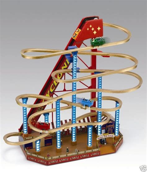 mr christmas worlds fair grand roller coaster music box