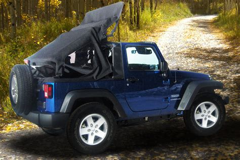 Jeep Convertible Top Aftermarket Firms Develop Power Operated Soft Top For Jeep