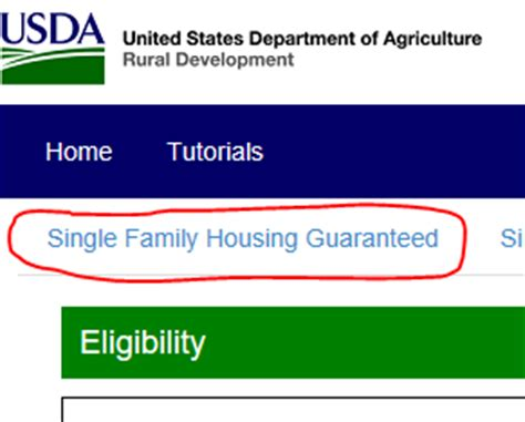 Usda Address Search Usda Property Eligibility Step By Step For Usda Approval