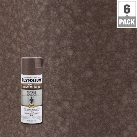 rust oleum stops rust 12 oz copper protective enamel hammered spray paint 210849 the home depot