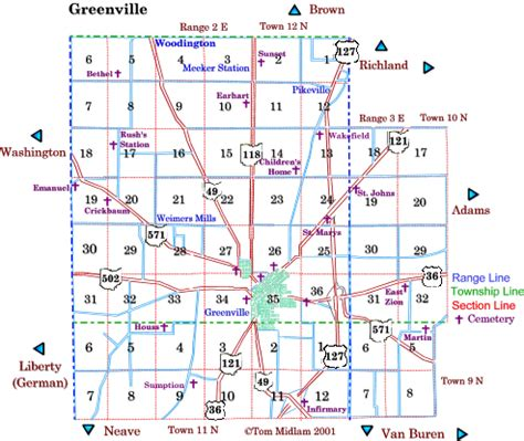 Darke County Ohio Records Greenville Township Land Patents