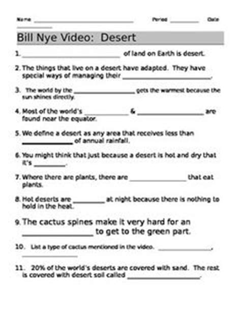bill nye plants worksheet 1000 images about bill nye on bill nye worksheets and