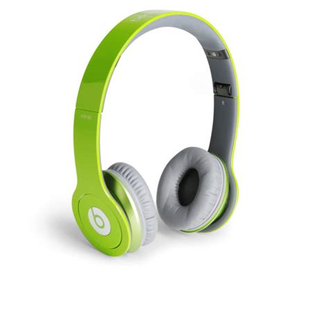 Headseat Heandsfree Beat Dr Dre Hf Earphone beats by dr dre hd headphones with talk green electronics thehut