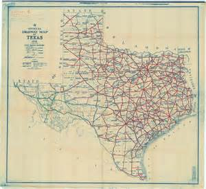 Texas Map State by Map Collection Texas State Library And Archives Commission