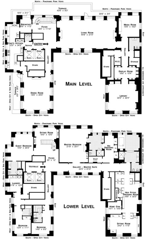 building floor plans nyc streeteasy residences at the ritz carlton at 50 central