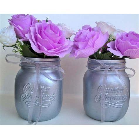 vasi di vetro decorati oltre 25 fantastiche idee su vasi di fiori decorati su