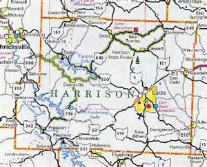 harrison county map ohio ohio hotels motels