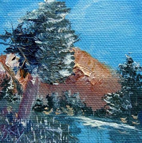 bob ross painting pine trees bob ross leaning pine tree landscape painting at
