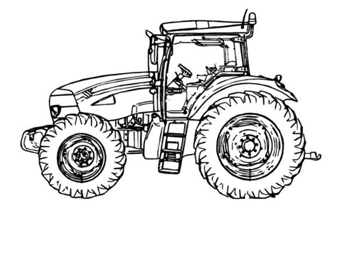 New Holland Tractor Clipart 6
