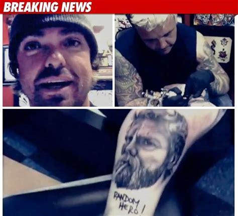ryan dunn tattoos nealmarroquinjp wee tribute to fallen